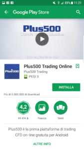 plus500 android
