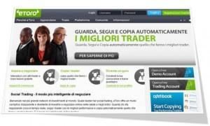 Copy trader di eToro