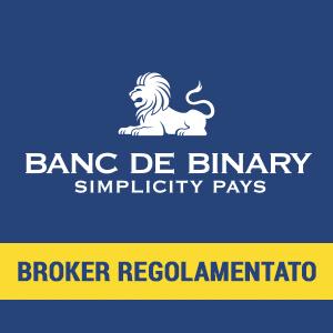 Banc de Binary miglior broker opzioni binarie