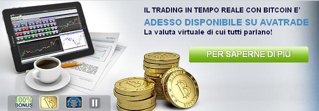 Trading BitCoin con AvaTrade: ecco come fare