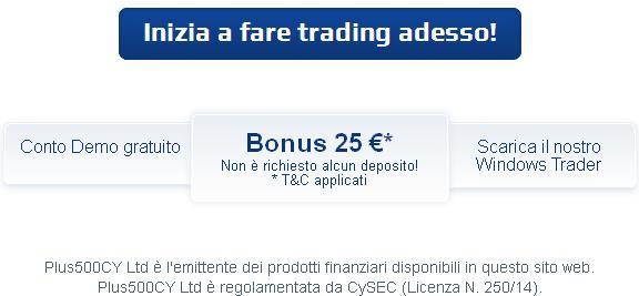 Forex bonus senza deposito