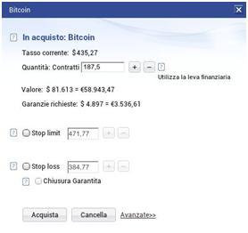 Investire bitcoin plus500