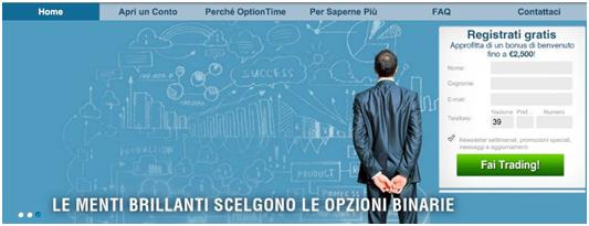 optiontime scelta
