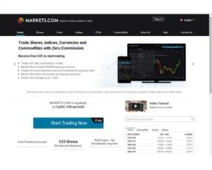 primo deposito markets.com