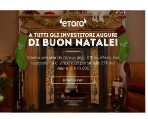 promozione per natale Etoro