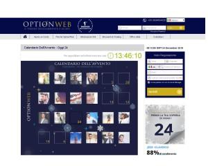 promozione vigilia Optionweb