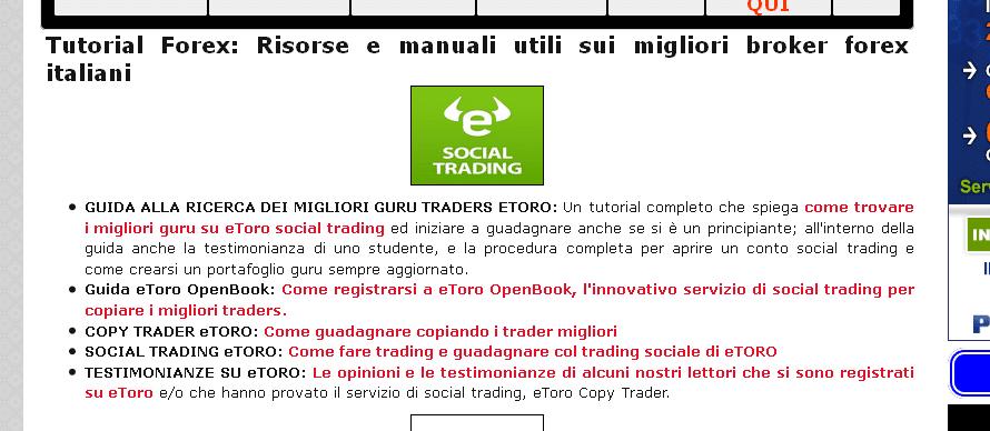tutorial etoro social