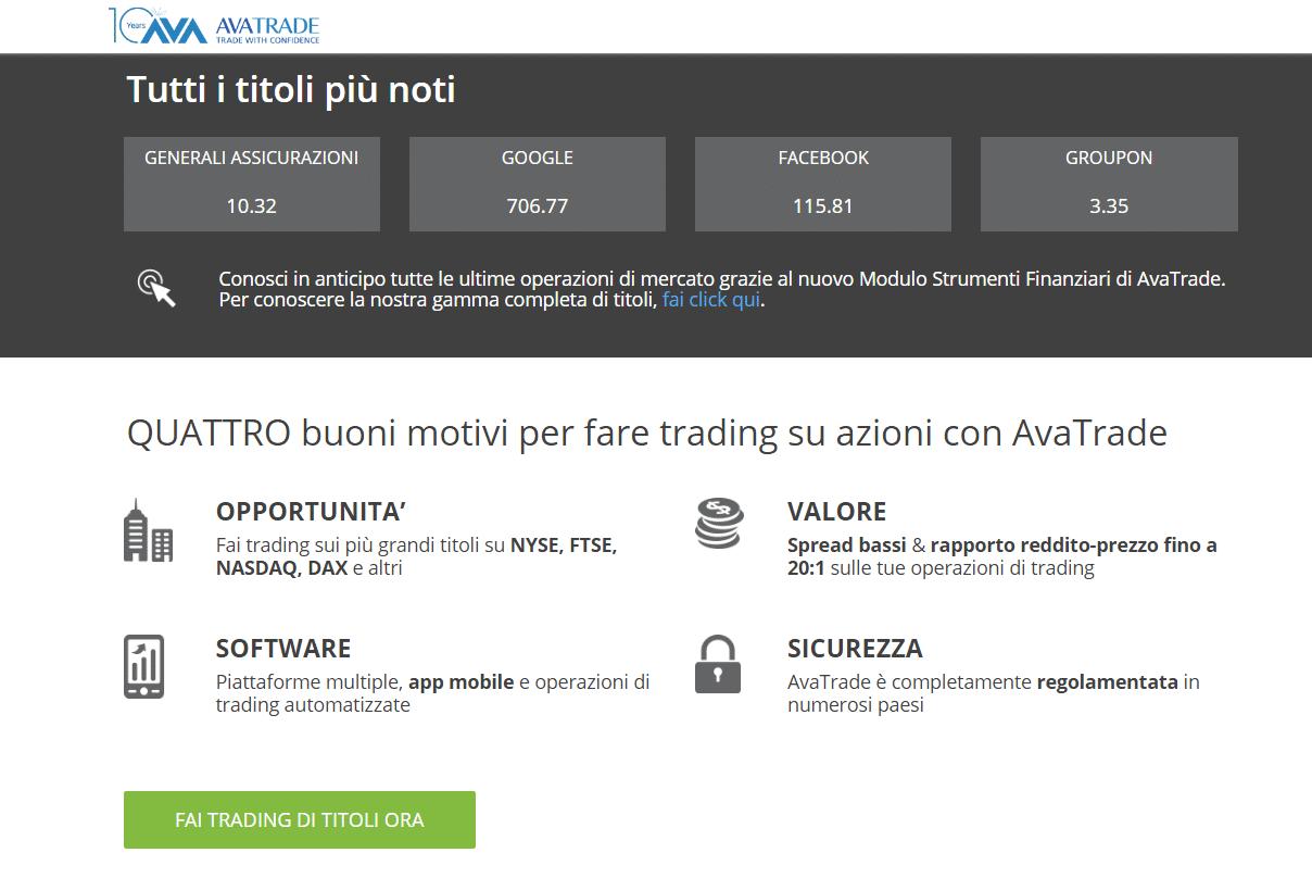 Programmi di trading on line