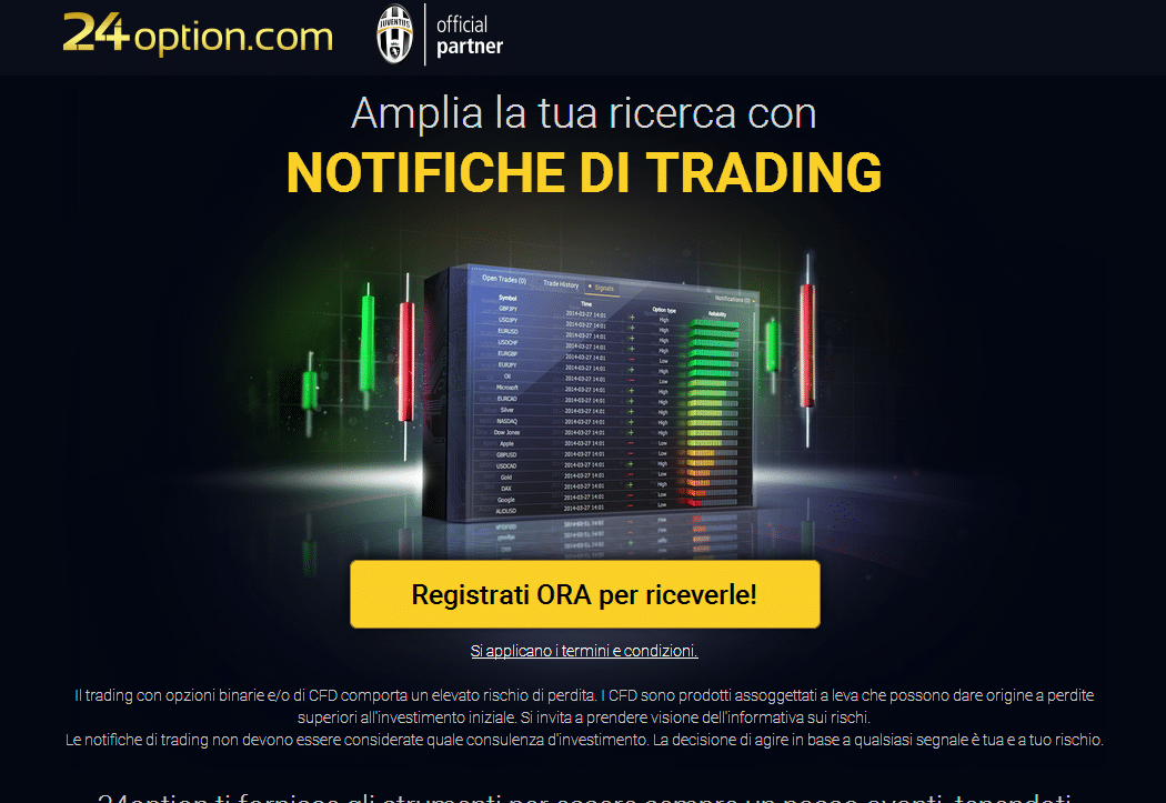 segnali trading 24option