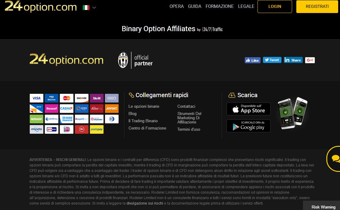 sito ufficiale 24option