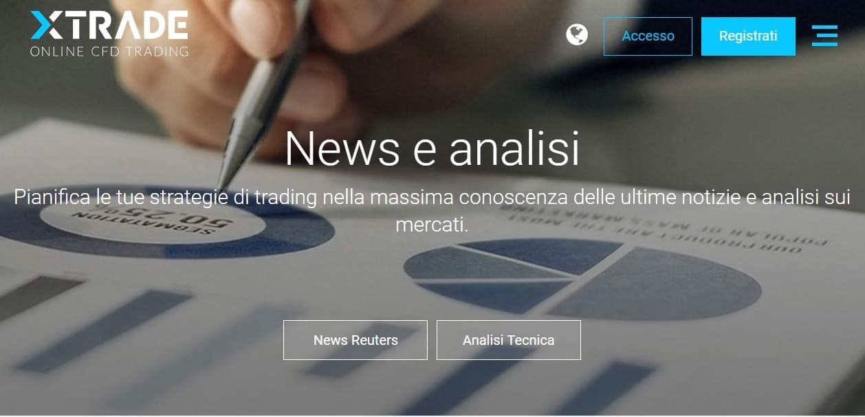 news analisi xTrade