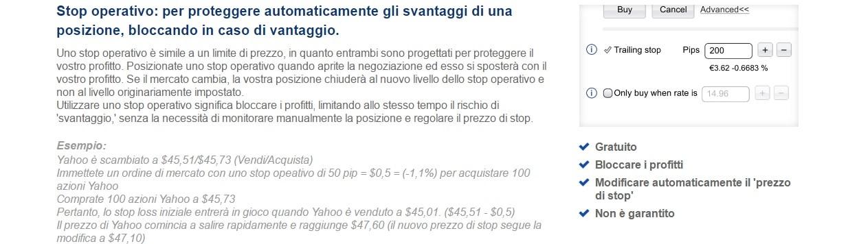 stop operativo plus500