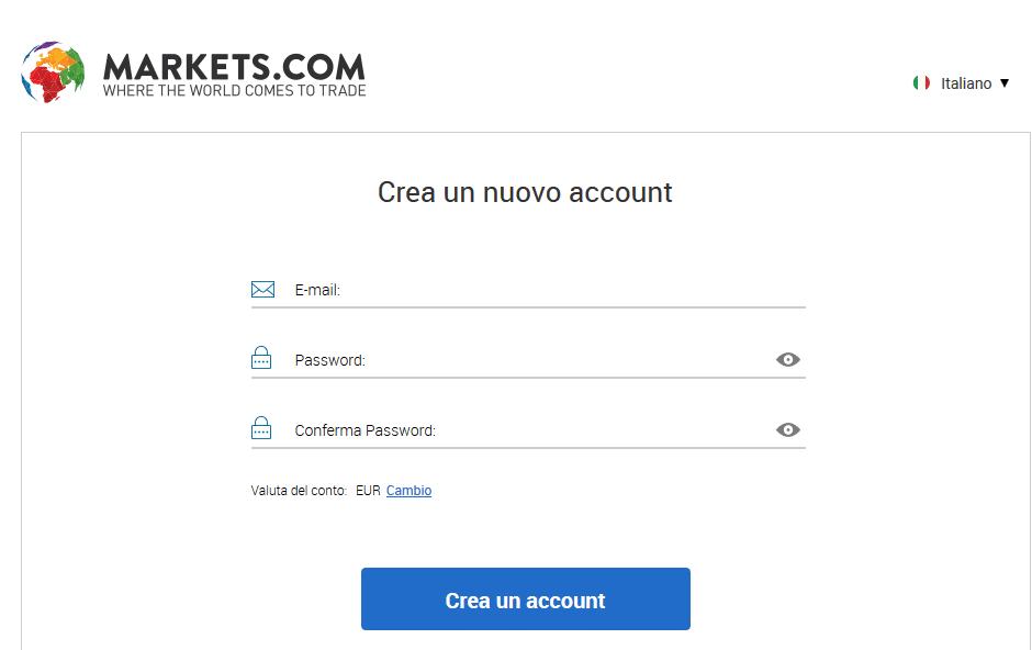 conto markets.com