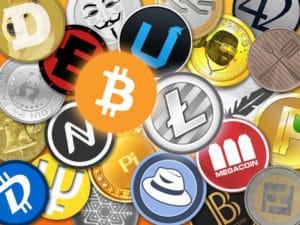 virtuelle Münzen