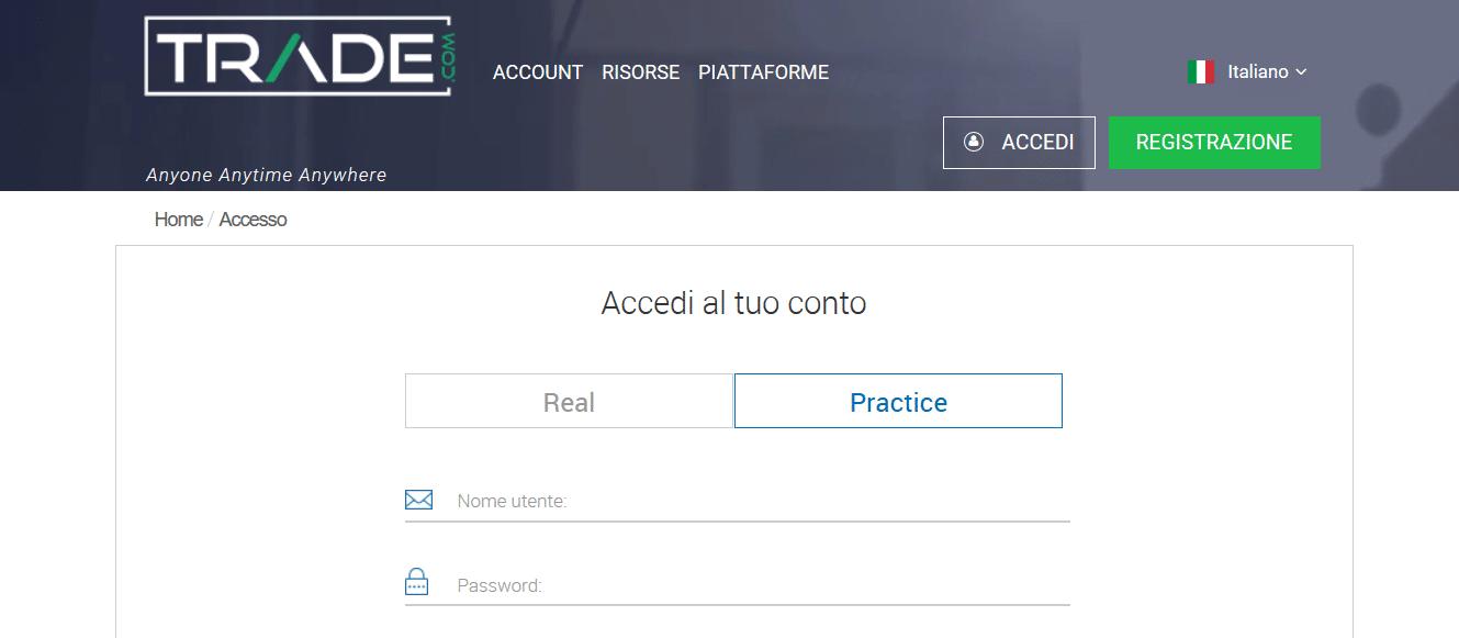 accesso demo