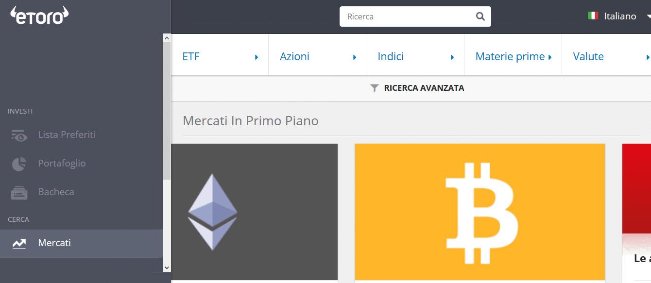 trading piattaforma