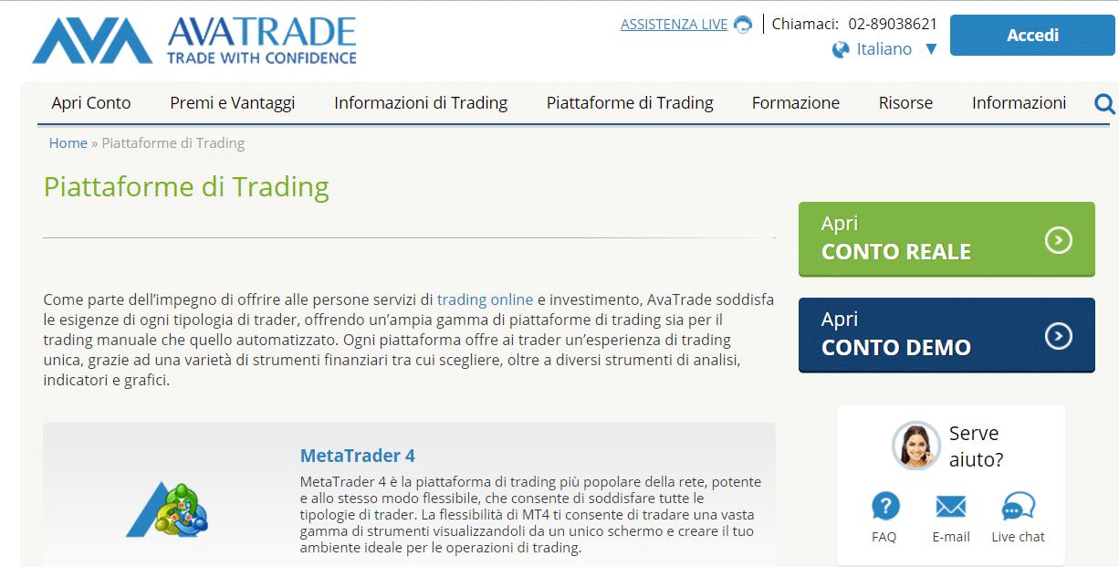 piattaforme trading criptovalute