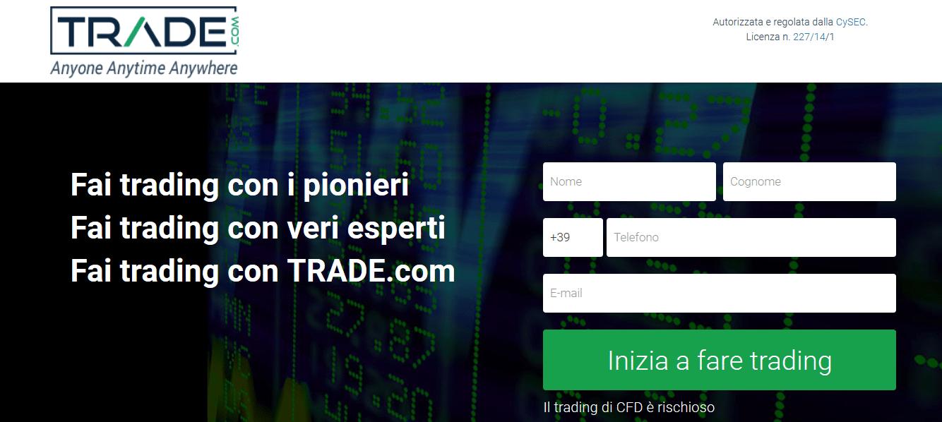 registrazione trade