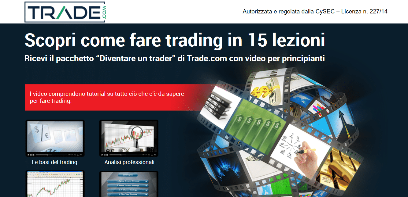 trade.com pacchetto video