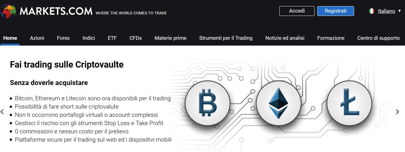 broker pagina ufficiale