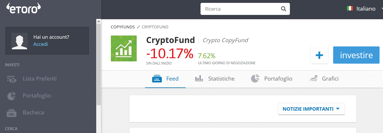 cryptofund etoro registrazione