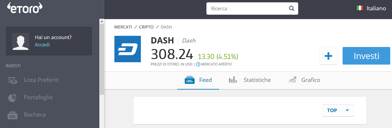 trading dash