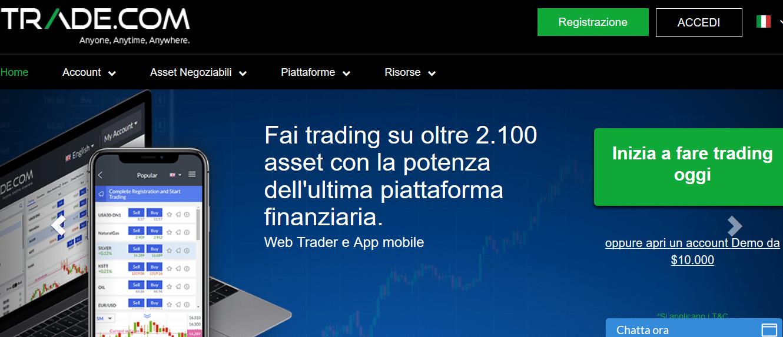 pagina ufficiale trade