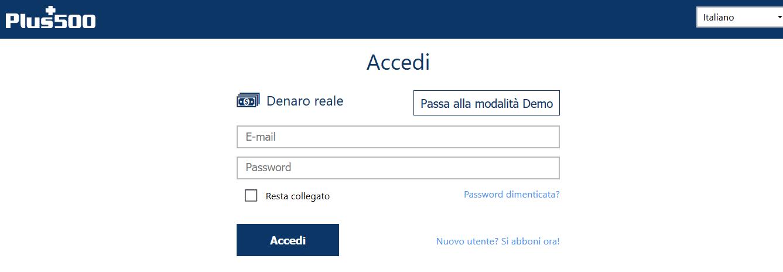 accesso reale