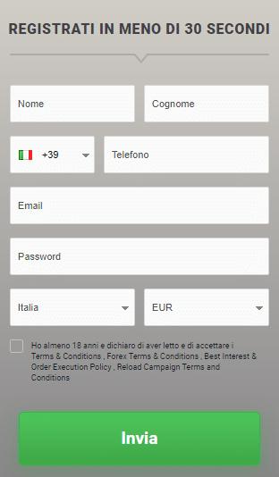 trading online con il conto demo gratuito bdswiss