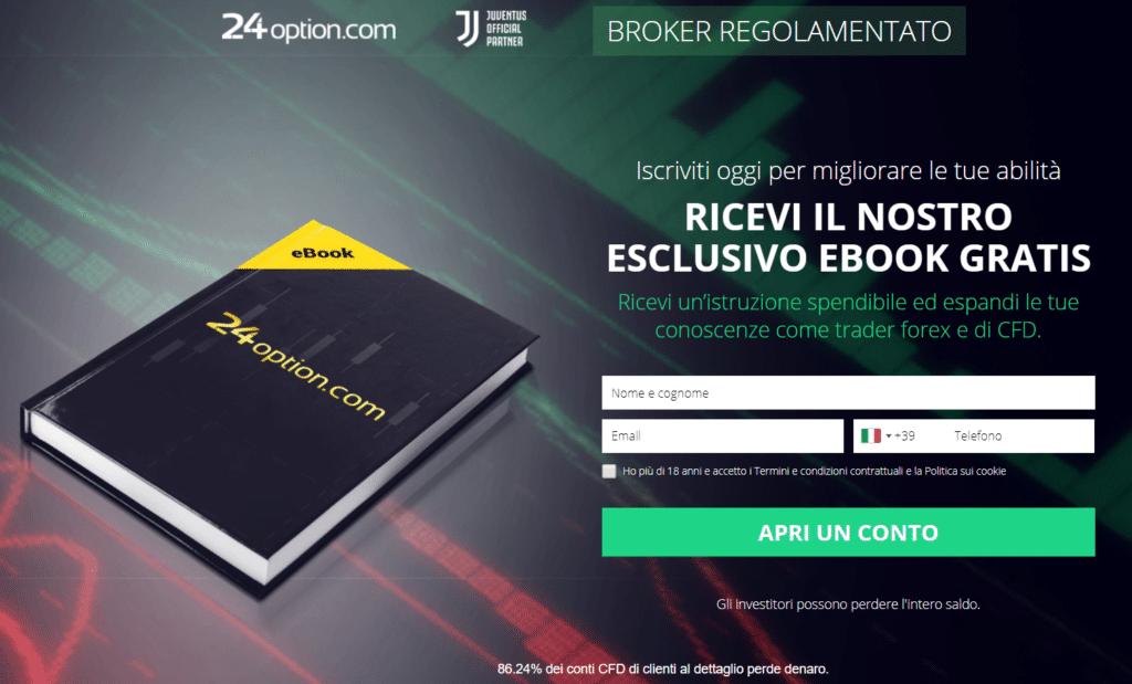 download gratis manuale 24option