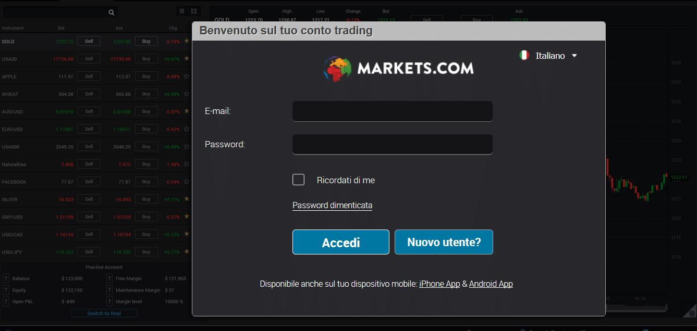 accesso broker