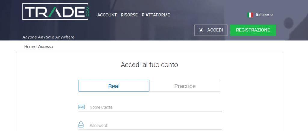 accesso-trade