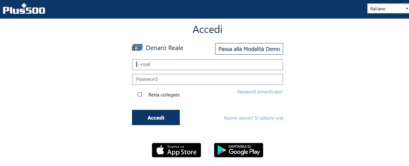 accesso online