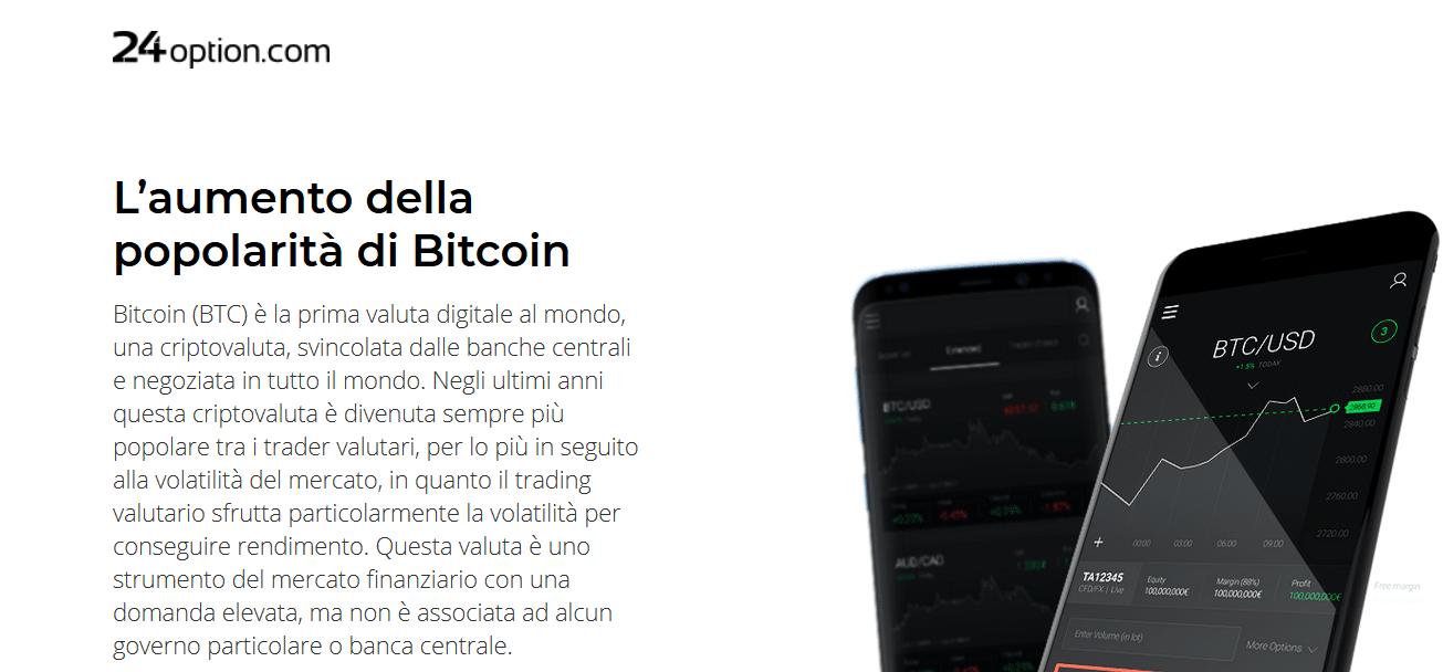 popolarità bitcoin