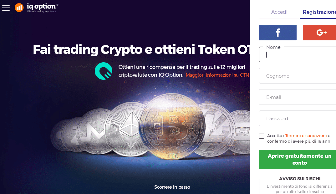 token iq option