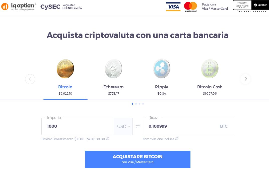 bitcoin carta