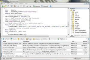 Metatrader linguaggio programmazione