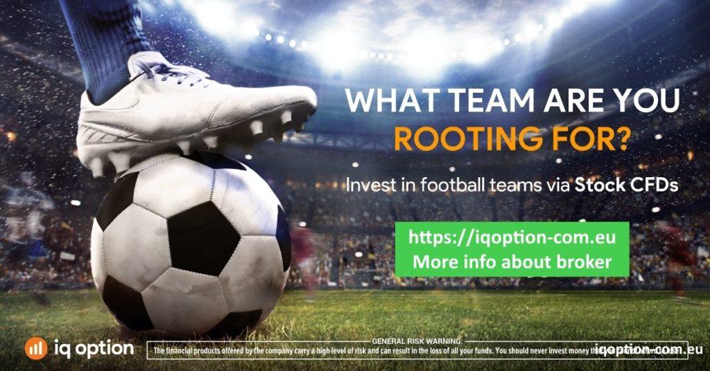 iq option investire calcio