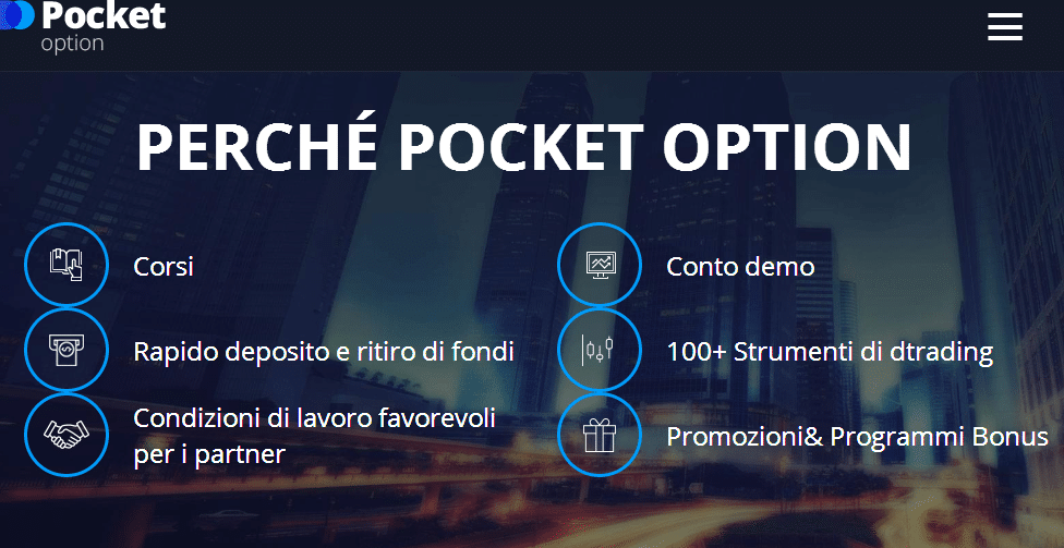 perchè scegliere pocket option