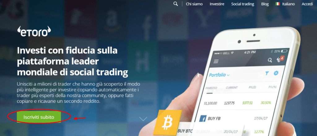 come fare trading ethereum con eToro