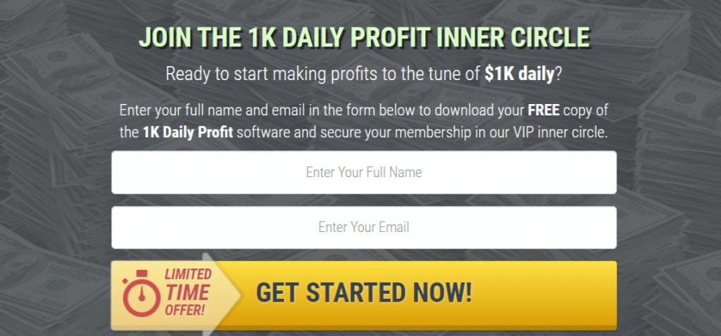 truffa trading automatico 1k daily