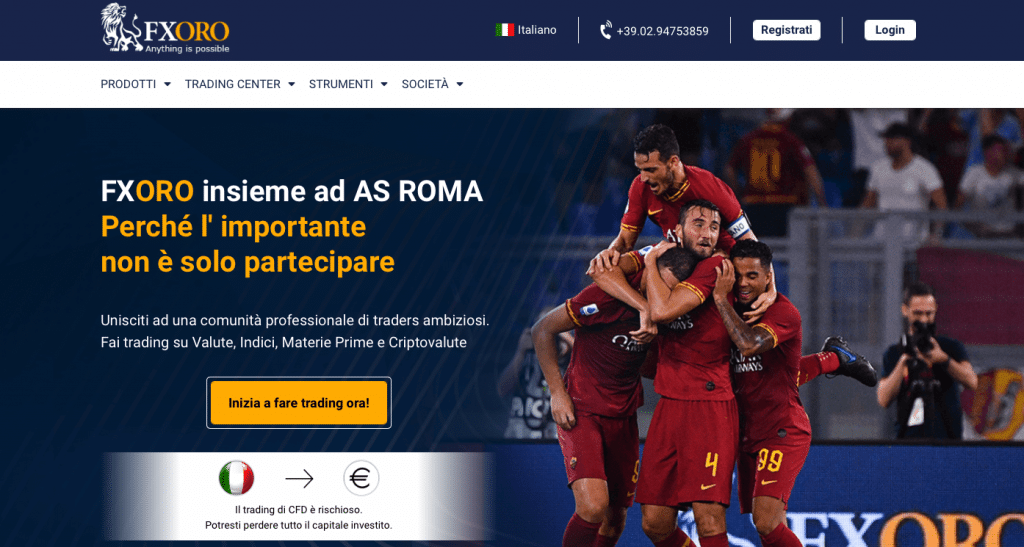sito web ufficiale di fx oro