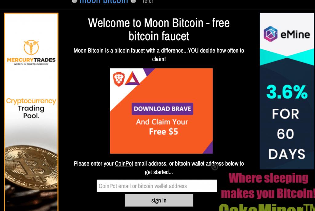 Bitcoin cash moon faucet coinpot