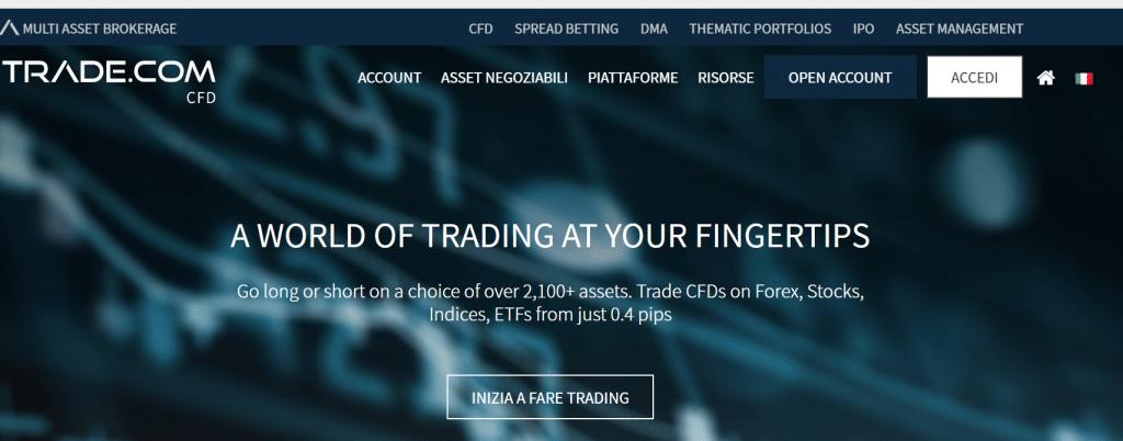 sito ufficiale di trade.co