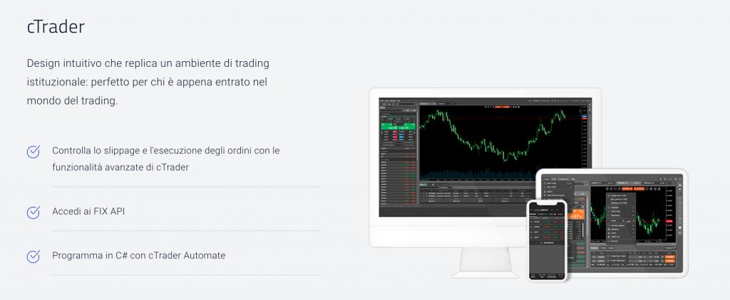 offerta piattaforma trading cTrader su Pepperstone
