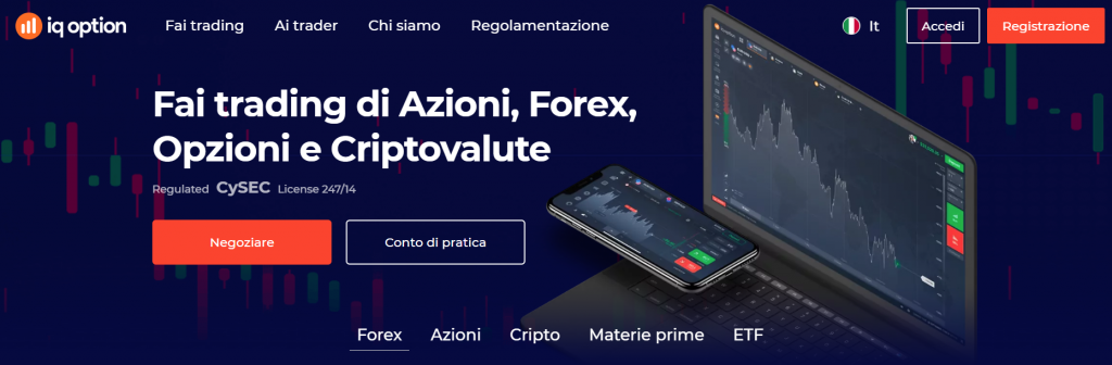 guida completa al broker iq option