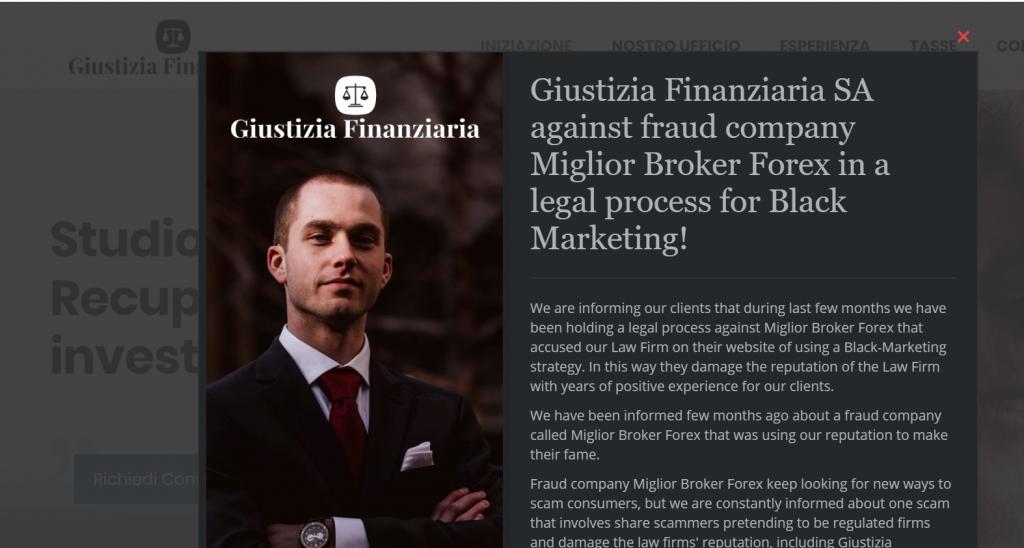striscia la notizia - giustizia finanziaria