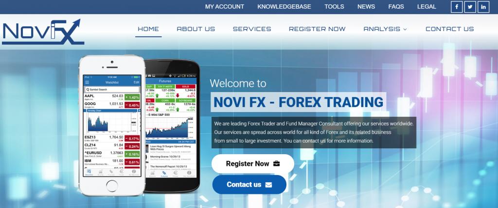 Novi FX broker sicuro o truffa?