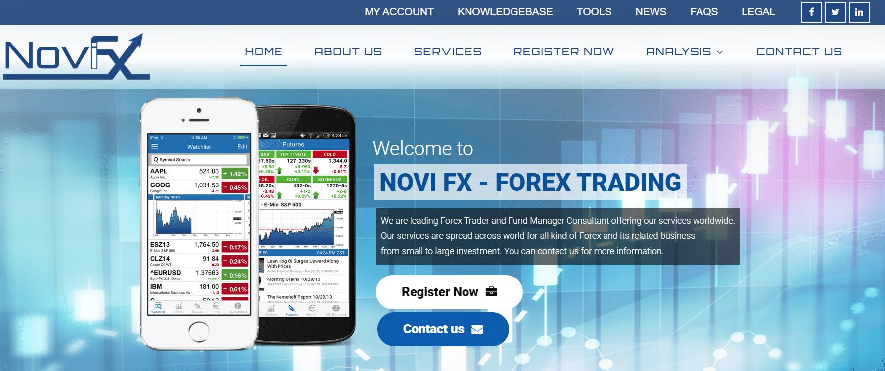 Novi FX Truffa o Funziona? Opinioni e recensioni