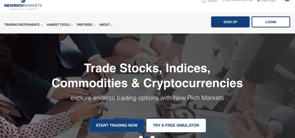 New rich markets è un broker sicuro o una truffa?